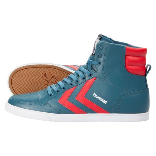 Изображение Кроссовки Hummel Slim Stadil Action Hi Legion Blue