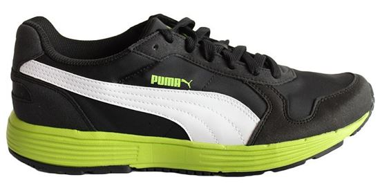 Изображение Кроссовки Puma Future ST Runner NL Black-lime green-white