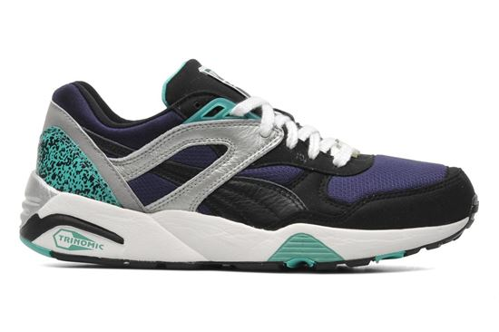 Изображение Кроссовки Puma Trinomic R698 Black/pool blue/peacoat